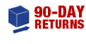 90-Day return policy on all our products